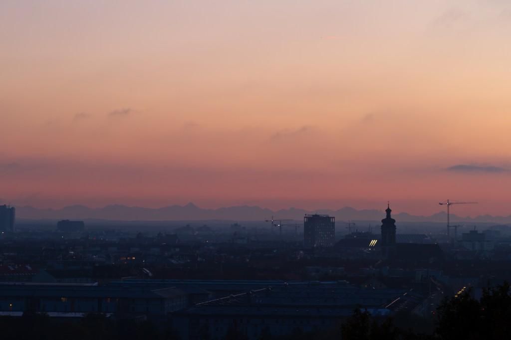 Munich sunset